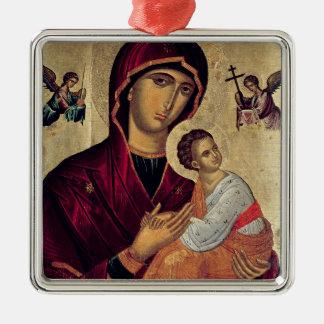 Icono que representa a la madre santa de la pasión adorno