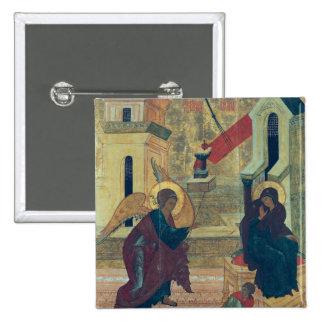 Icono que representa el anuncio pin cuadrada 5 cm