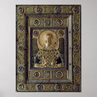 Icono que representa el arcángel Michael Póster