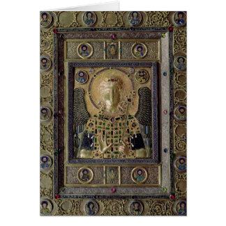 Icono que representa el arcángel Michael Tarjeta De Felicitación