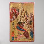 Icono que representa la natividad póster