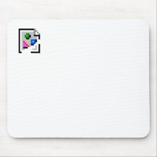 Icono quebrado Mousepad de la imagen
