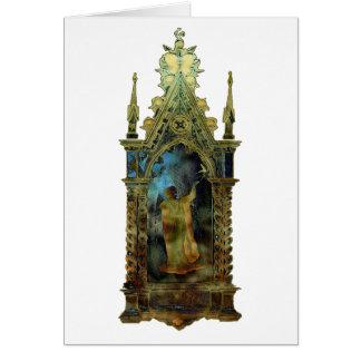 Icono religioso de Pascua Tarjeton