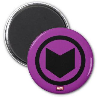 Icono retro de Hawkeye Imán Redondo 5 Cm