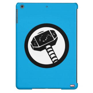 Icono retro del martillo del Thor Funda Para iPad Air