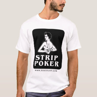 Icono retro del póker de tira playera
