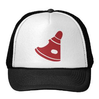 Icono rojo de la cápsula de espacio gorra