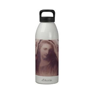 Icono sagrado de la placa de la pared de colgante  botellas de beber