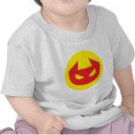 Icono simple del diablo camiseta