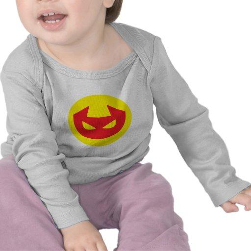Icono simple del diablo camisetas