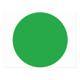 icono verde del punto tarjeta postal