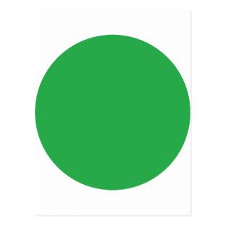 icono verde del punto tarjetas postales