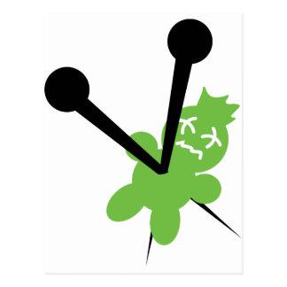 icono verde del vodoo postal