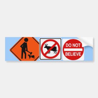 Iconoclast bumper sticker