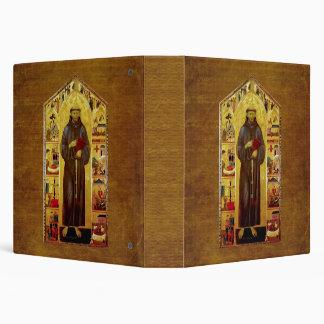 """Iconografía medieval de los Franciscos de Asís del Carpeta 1 1/2"""""""
