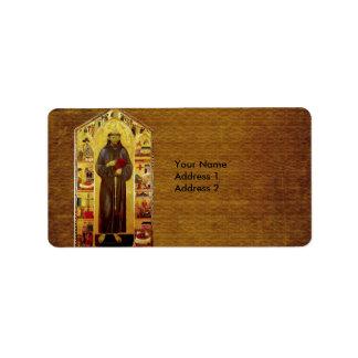 Iconografía medieval de los Franciscos de Asís del Etiqueta De Dirección