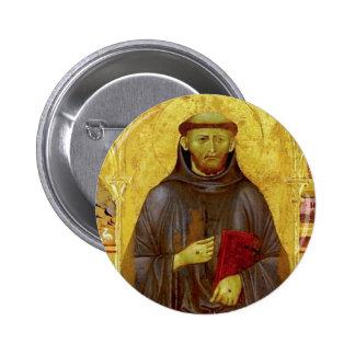 Iconografía medieval de los Franciscos de Asís del Chapa Redonda 5 Cm