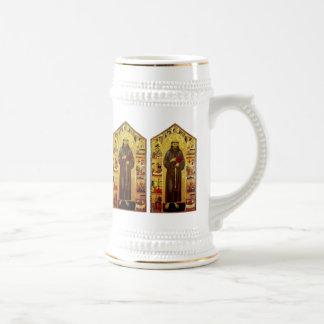 Iconografía medieval de los Franciscos de Asís del Jarra De Cerveza