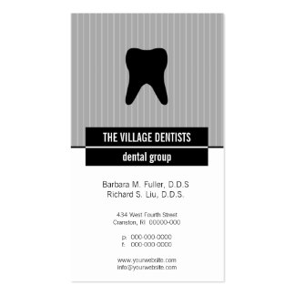 Iconographic Dental Appointment Business Cards