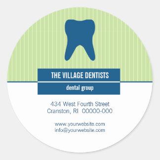 Iconographic Dental Promotional Sticker