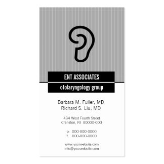 Iconographic Ear Appointment Business Card
