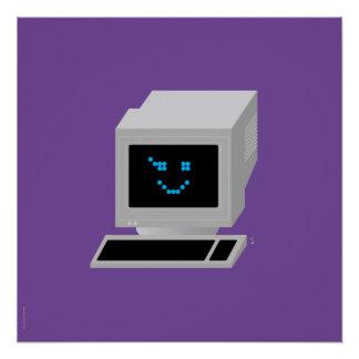 Iconographic Ol' School Computin' Poster