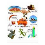 Iconos australianos postal