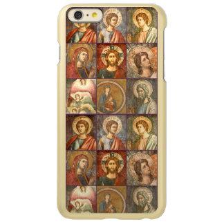 Iconos católicos antiguos de Jesús y de los santos