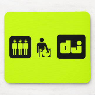 ICONOS DE DJ MOUSE PADS