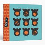 "Iconos de Furby Carpeta 1 1/2"""