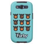 Iconos de Furby Galaxy S3 Carcasa