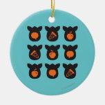 Iconos de Furby Ornamentos De Navidad