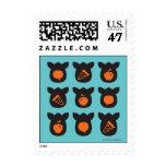 Iconos de Furby Sello Postal