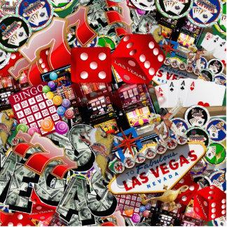 Iconos de Las Vegas - placer de los jugadores Fotoescultura Vertical