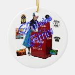 Iconos de Memorbilia de los años 50 Ornamentos Para Reyes Magos