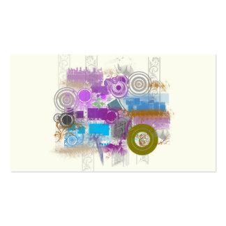 Iconos - Grunge retro - tarjetas del perfil del Tarjetas De Visita