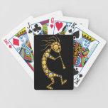 Iconos mágicos del arte del emoji de Kokopelli Barajas De Cartas