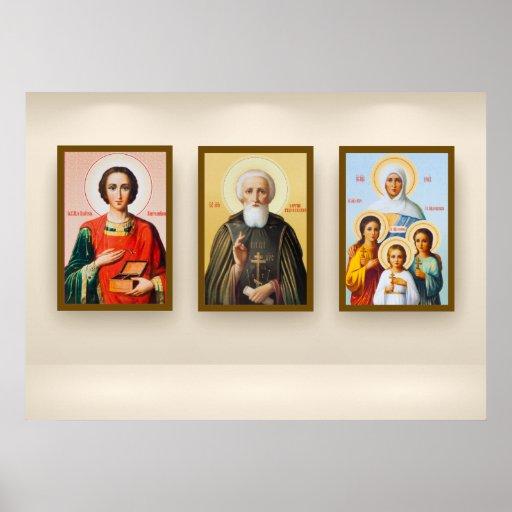 Iconos Póster