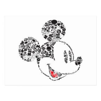Iconos y frases de moda de Mickey el | Postal