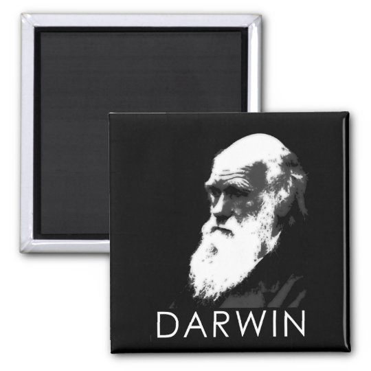 Icons of Science: Darwin Magnet