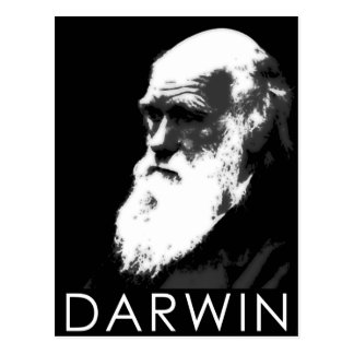 Icons of Science: Darwin Post Card