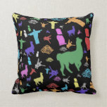 Icons of South America Throw Pillow