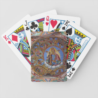 Icons Rila Monastery.JPG Bicycle Playing Cards