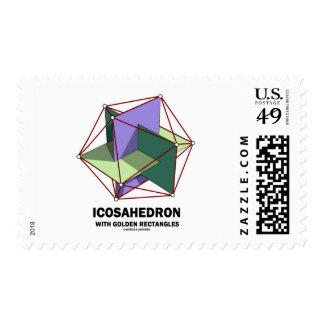 Icosahedron con los rectángulos de oro (geometría) envio