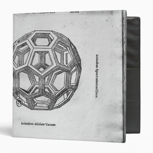 Icosahedron, de 'De Divina Proportione'