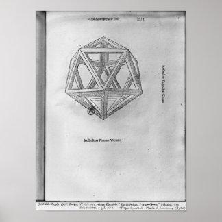 Icosahedron de De Divina Proportione Impresiones