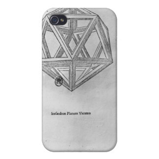Icosahedron, from 'De Divina Proportione' Cases For iPhone 4