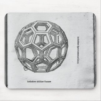 Icosahedron, from 'De Divina Proportione' Mouse Pad