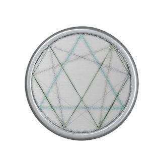 Icosahedron in Crayon Bluetooth Speaker