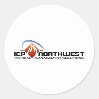 ICP North West Classic Round Sticker